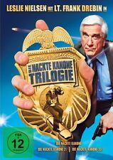 DIE NACKTE KANONE TRILOGIE (Teil 1-3) 3 DVDs NEU+OVP