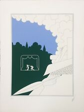 "ERTE` ""WRITER IN LANDSCAPE"" 1982 