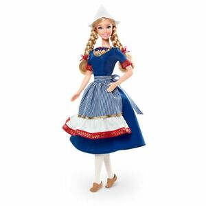 Barbie Collector Dolls of The World Holland Doll Pink Label NRFB