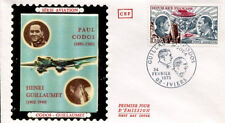 FRANCE FDC - 836 A48 3 PAUL CODOS AVION IVIERS 24 2 1973 - LUXE