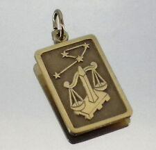 Sternzeichen Anhänger Waage Gold 333 8Kt 2,5x1,2cm