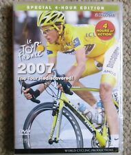 2007 Tour De France World Cycling Productions 2 DVD 4 hrs Contador Very Clean