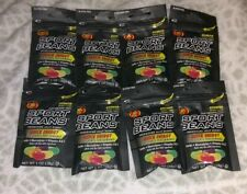 (8) Packs Jelly Belly Sport Beans Assorted Flavors Energy Beans