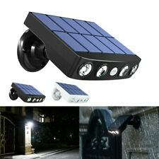 LED Waterproof Solar Wall Street Light Outdoor PIR Motion Sensor Garden Lamp