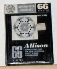 8-Track Blank Recording Tape - Allison - New Old Stock - Still Sealed