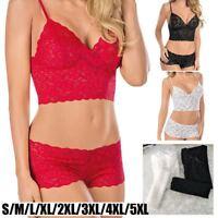 Sexy Wäsche-Sätze BH & Schlüpfer Schiere Spitze Eingewickelte Brust