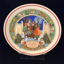 Wedgwood A Child's Christmas 1983 Collectors Plate (Fifth in Series)