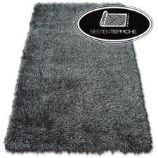 """Amazing Soft And Thick Rugs Black """" Love Shaggy """" Polyester 2 3/8in"""