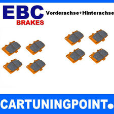 EBC Brake Pads Front & REAR AXLE Orange Fabric for BMW 3 E46 dp91211 dp91289