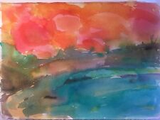 Watercolor Fail #1 by John Seed: Starting bid $5 with free shipping in the U.S.