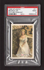 Belinda Lee 1958 Atlantic Picture Pageant Film Star Card #11 PSA 9 MINT