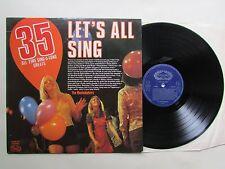 Todo permite cantar 35 todos los tiempos Sing-a-long Grandes Lp, 1974 sello Shm 847. varios.