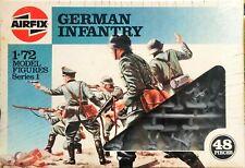 Model figure german infantry 48 pieces Airfix series 1 1/72 kit 01705