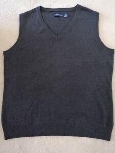 TAROCASH Men's Grey Cotton & Acrylic Vest Size XXL As New