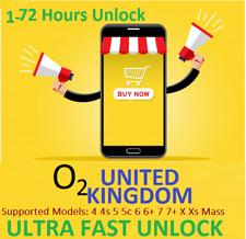 Factory unlock O2 UK Tesco Giffgaff iPhone Service 11 Xs X  8 7 6s 6+ 6 SE 5 4