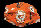 2 PACK Baltimore Orioles mask washable and adjustable JOHN MEANS CEDRIC MULLINS