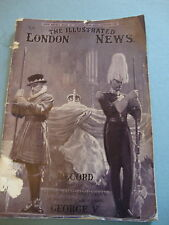 The Illustrated LONDON NEWS Lying in state Funeral King George V 1936