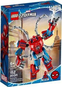 LEGO Marvel Avengers Super Heroes Supersized Spider-Man Mech Building Set -76146
