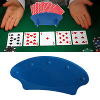 JW_ BE_ KF_ Playing Card Holder Lazy Poker Base Game Hand Free Christmas Party