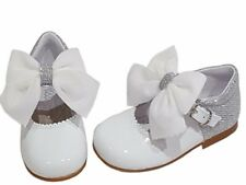 This seasons stunning glitter Bambineli bow shoes