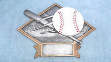 Baseball trophy resin diamond plate full color Dps10