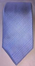 Charles Tyrwitt NWT Blue Silk Classic Prince Of Wales Check Skinny Mens Necktie