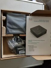 Cisco SPA122 VOIP ATA with Router 1x WAN 1x LAN 2x RJ-11 Port