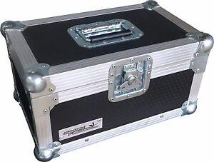 "7"" Single 200 Swan Flight Case Vinyl Record Box (Hex)"