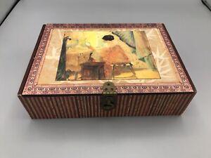 Bentley's Finest Teas Box Victorian Lady Dressing Ceylon Tea - Empty