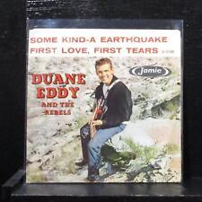 """Duane Eddy - Some Kind-A Earthquake 7"""" VG+ Vinyl 45 Jamie 1130 USA 1959"""