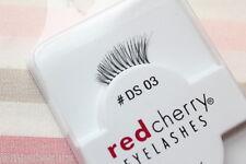 Red Cherry #DS3 Akzent Wimpern halbe falsche Echthaarwimpern strip lash DS 03