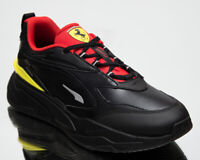 Puma Ferrari RS-Fast Motorsport Men's Black Red Casual Lifestyle Sneakers Shoes