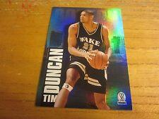 Tim Duncan 1997 Score Board Draft Day #1C Trading Card NBA Basketball Spurs