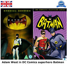 Adam West in DC Comics superhero Batman Movie TV Series with 120 episodes UK DVD