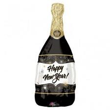 Bonne Année Bouteille de Champagne Ballon Hélium Aluminium Ans