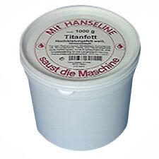 Hanseline Titanfett  Dose 1kg weiß