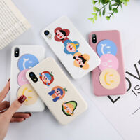 Cute Girls TPU Protective Case Cover For Apple iPhone XS Max XR X 8 7 6 6s Plus
