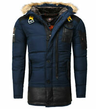 Parka homme Geographical Norway Parka Bussel bleu marine