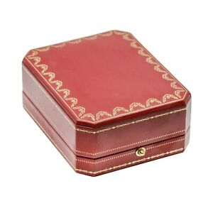Cartier Original Cufflinks or Rings Presentation Box