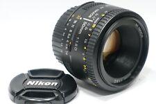 Nikon Nikkor AF-D 50mm 1:1.8D lens, fits F6 D5 D600 D7100 Df D850 D7200 camera