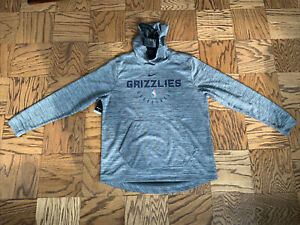 NBA Size Medium Hoodie Memphis Grizzlies Pullover Long Sleeve Size XL