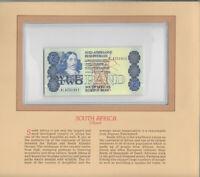 Most Treasured Banknotes South Africa 1983 2 Rand P 118d UNC Prefix AL
