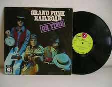 Grand Funk Railroad On Time LP UK laminated tripple flipback ex-ex