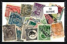 Serbie - Serbia 50 timbres différents