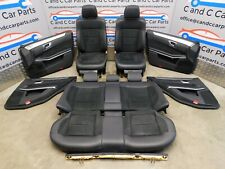 MERCEDES W212 E CLASS 2014 AMG Black LEATHER  SEATS SET  Heated Electric etc