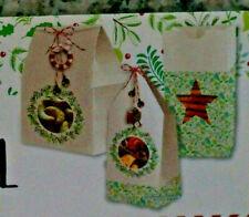 3 Geschenktbeutel Weihnachten