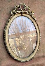 Beau cadre ovale ancien - Art déco 1920