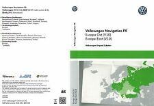VW Seat Media System 2.0 SD KARTE Europa Ost V10 2018 / 2019 X CARD RNS 310