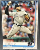 2019 Topps Series 1 Pablo Lopez #151 Miami Marlins Rookie Card RC