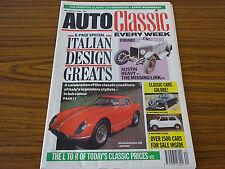 Auto Classic Newspaper: October 3rd 1990: Italian Design Greats